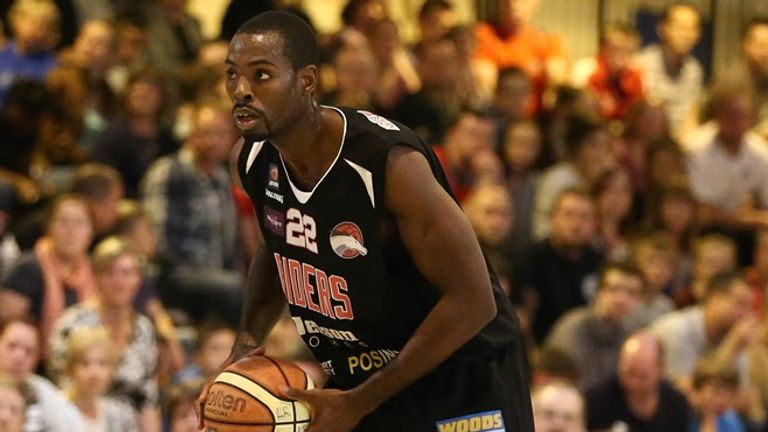 Rashad Hassan: top scored for Leicester Riders with 23 points