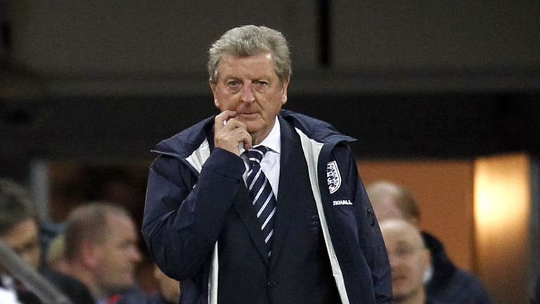 Roy Hodgson: England boss will head to Arsenal on Saturday