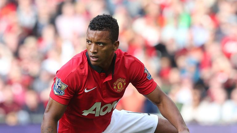 Nani: Manchester United winger was booed off at Old Trafford