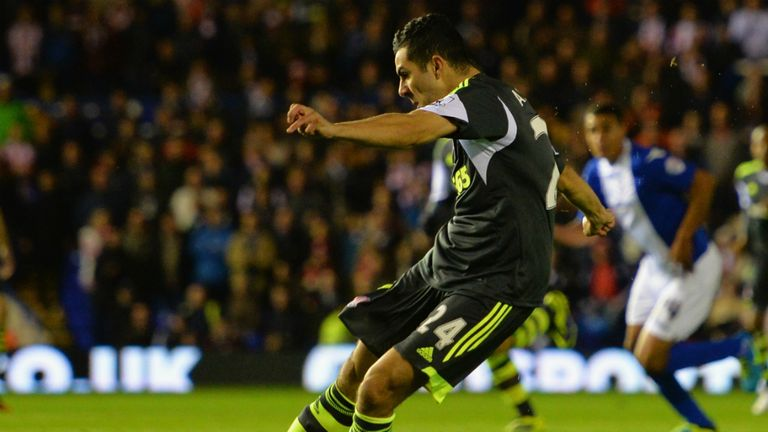 Oussama Assaidi: Fires Stoke ahead with an excellent strike