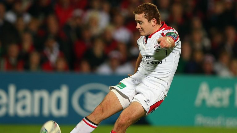 Paddy Jackson: First-half try set the ball rolling