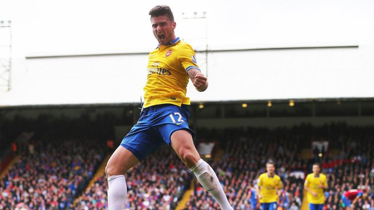 Olivier Giroud: Arsenal striker feeling confident