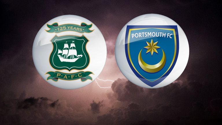 Plymouth Argyle v Portsmouth: Live on Sky Sports