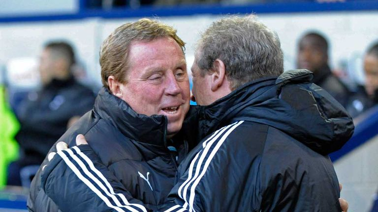 Harry Redknapp offers support to his old managerial rival Roy Hodgson