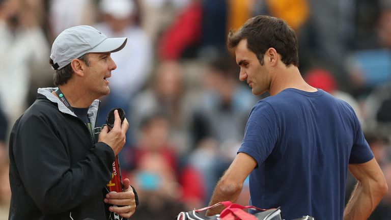 Roger Federer has parted ways with his coach of over three years, Paul Annacone