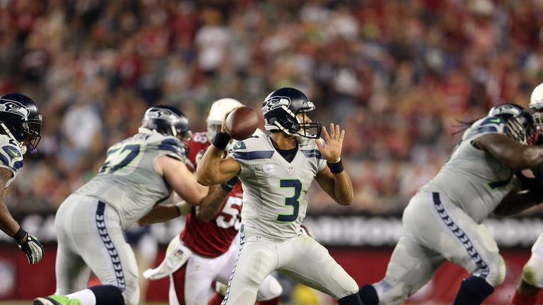 Russell Wilson: driving the Seattle Seahawks onwards and upwards