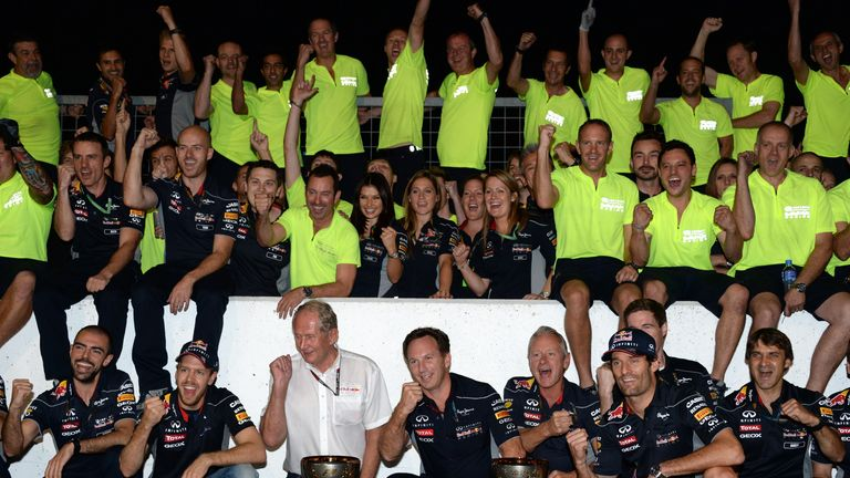 Red Bull: Said their one-two could have easily been in a different order