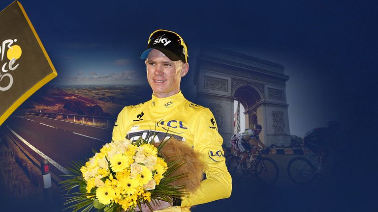The 2014 appears to suit Chris Froome perfectly