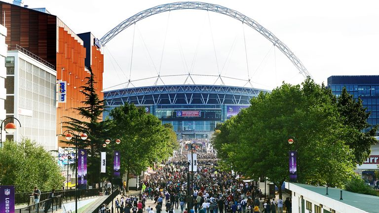 Wembley has become a second home for the NFL