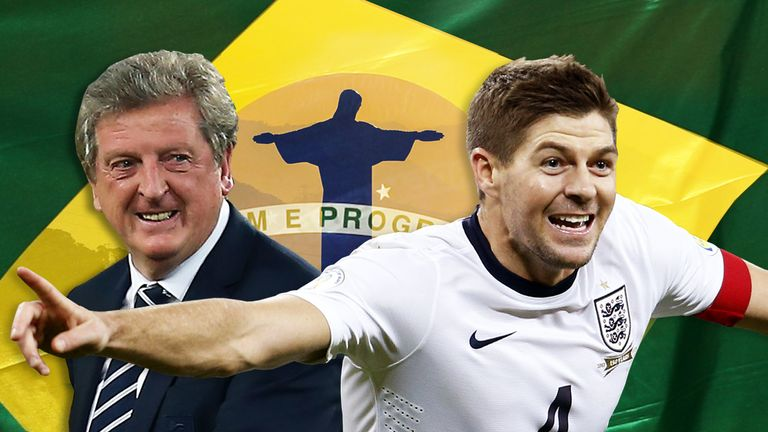 Roy Hodgson and Steven Gerrard will be there but who should be joining them in Brazil?