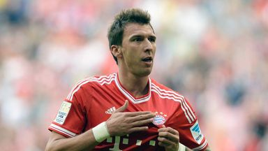 Mario Mandzukic: Bayern striker was linked with a return to Wolfsburg