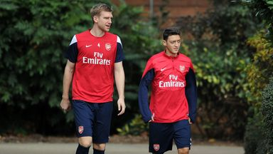 Per Mertesacker: Happy to talk terms over new deal and impressed with Mesut Ozil