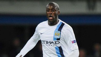 Yaya Toure: Manchester City midfielder was targeted during the win over CSKA Moscow