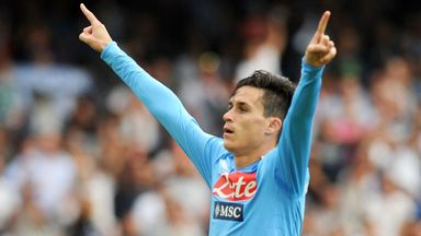Jose Callejon: Hopeful Napoli will beat Arsenal