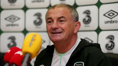 Noel King: Saw Ireland battle bravely against Germany