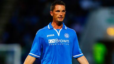 Gary McDonald: New contract for St Johnstone midfielder