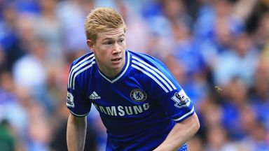 Kevin De Bruyne is keen to leave Chelsea on a permanent basis