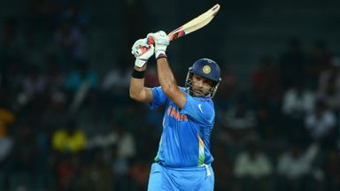 Yuvraj Singh: Stylish return to international cricket after 10-month absence