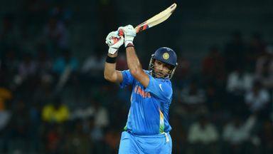 Yuvraj Singh: Stylish return to international cricket after 10-month absence