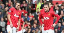 Robin van Persie and Wayne Rooney: One in, one out for the champions