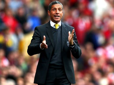Chris Hughton: Keen to put Liverpool result behind him