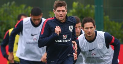 Steven Gerrard: Trains with England on Monday