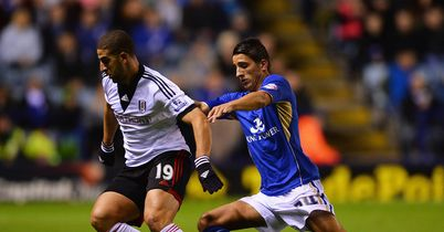 Adel Taarabt: In action against Leicester City