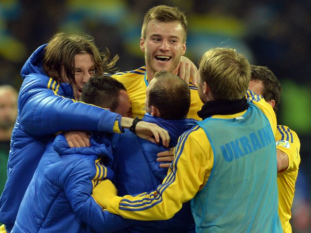 Celebrations for Ukraine.