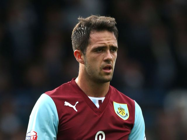 Ings: Found the net for Burnley