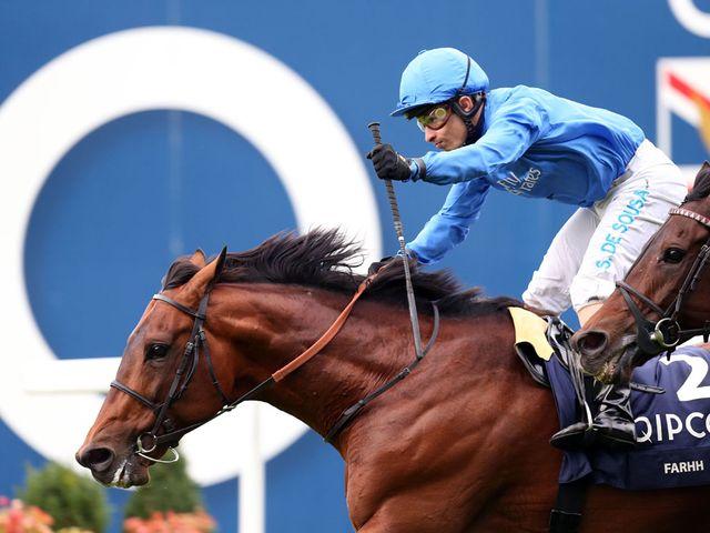 Farhh: Champion Stakes hero