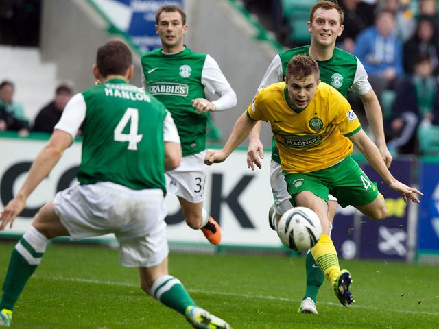 James Forrest scores for Celtic