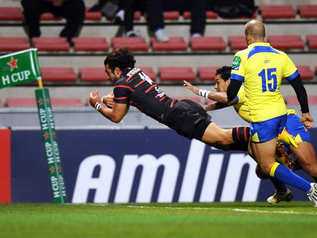 Yoann Huget scored two tries