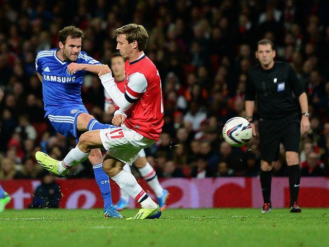 Juan Mata scores Chelsea's second goal