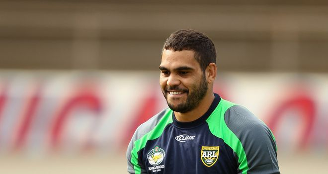 Greg Inglis: Want Australia to avenge their 2008 final loss to New Zealand