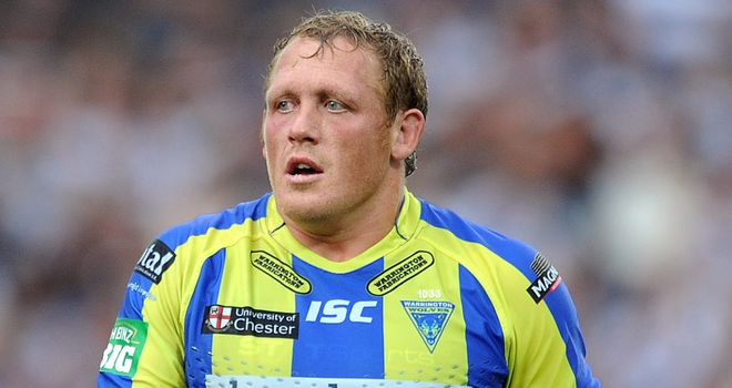 Ben Westwood: Believes Warrington have moved on after their final heartache