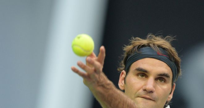 Roger Federer: Easy win over Adrian Mannarino in Basel opener