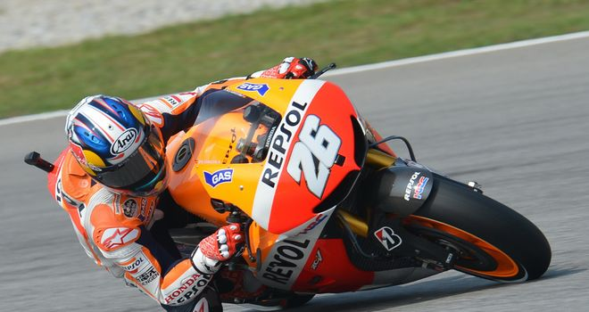 Dani Pedrosa: Setting the pace in Sepang
