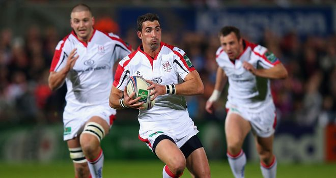 Ruan Pienaar: kicked 19 points for Ulster