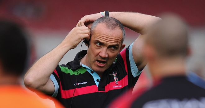Conor O'Shea's side have made a slow start to the season