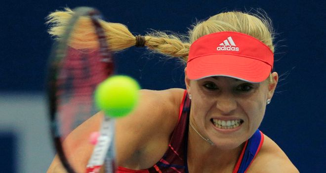 Angelique Kerber: Has twice reached a grand slam semi-final