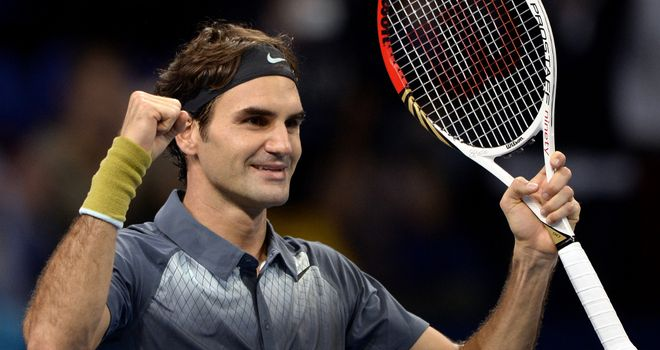 Roger Federer: The 2011 ATP World Tour champion is feeling excited