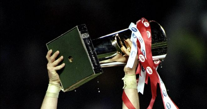 Andy Farrell guided Wigan Warriors to Super League glory in 1998
