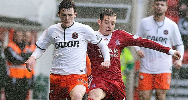 Andrew Robertson: Grapples with Peter Pawlett