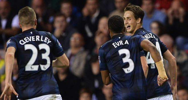 Adnan Januzaj marks his full Premier League debut with a match-winning performance