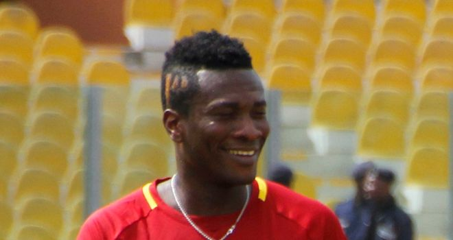 Asamoah Gyan: No comment from West Ham on transfer link