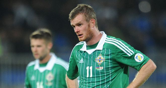 Northern Ireland: Slipped to another embarrassing defeat, this time to Azerbaijan