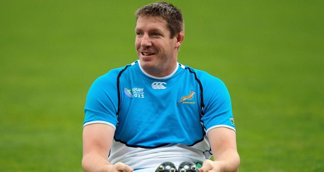 Bakkies Botha: Won the last of his 72 caps at the 2011 World Cup