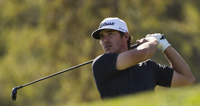 Brooks Koepka in flying form in Frys.com Open