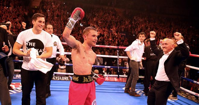Carl Frampton: Saw off Jeremy Parody - with the help of Mitchell Smith