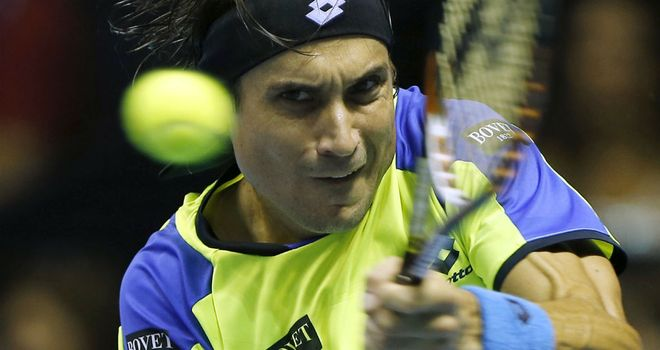 David Ferrer: Beat his compatriot Nicolas Almagro to reach the final in Valencia
